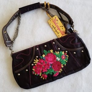 Betsyville small embroidered purse